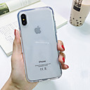 ieftine Carcase iPhone-Maska Pentru Apple iPhone XS Max / iPhone X / iPhone 8 Anti Șoc / Anti Praf / Transparent Capac Spate Transparent TPU