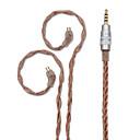 billige Audio- og videokabler-bqeyz opgradere forgyldt øretelefon kabel høj ydeevne i-øret skærm 0.78mm 2.5mm afbalanceret aftagelig ledning uden mikrofon