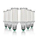 رخيصةأون أدوات الحمام-LOENDE 6PCS 25 W أضواء LED ذرة 2500 lm E26 / E27 T 90 الخرز LED SMD 5730 أبيض دافئ أبيض 85-265 V