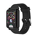 رخيصةأون ساعات ذكية-e04 smart watch bt fitness tracker support يخطر ومراقب معدل ضربات القلب متوافق مع هواتف أبل / سامسونج / هواوي