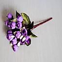 رخيصةأون أزهار اصطناعية-زهور اصطناعية 3 فرع كلاسيكي Wedding Flowers النمط الرعوي الورود أزهار الطاولة