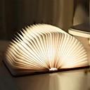 ieftine Lumini Nocturne LED-1 buc Carte Lampă de noapte de masă Built-in baterie Li-Powered Pliabil / Reîncărcabil / Magnetic