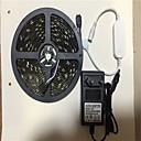 ieftine Set Becuri-5m Fâșii De Becuri LEd Flexibile / Bare De Becuri LED Rigide / Fâșii RGB 150 LED-uri SMD5050 Adaptor 3 x 12V 3A RGB Controlul APP / Creative / Petrecere 100-240 V 1set