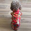 رخيصةأون ملابس وإكسسوارات الكلاب-قط كلب المعاطف ملابس الكلاب مادة مختلطة كوستيوم من أجل الشتاء