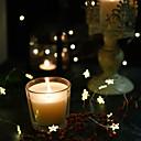 ieftine Benzi Lumină RGB-brelong 10pcs 2m 20led stele linii de cupru lumini exterioare impermeabile faruri de halloween stil decorativ lumini