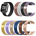 رخيصةأون أساور ساعات FitBit-حزام إلى Fitbit Blaze / Fitbit Versa / فيتبيت فيرسا لايت فيتبيت عقدة ميلانزية ستانلس ستيل شريط المعصم