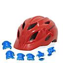 ieftine Căști-Pentru copii biciclete Casca BMX Casca 28 Găuri de Ventilaţie EPS ABS + PC Sport Exerciții exterior Ciclism / Bicicletă - Albastru celest Fucsia Rosu Unisex