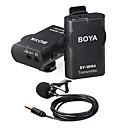 ieftine Microfoane-boya by-wm4 mark ii microfon wireless sistem condensator lavalier lapel microfon pentru interviu pentru iphone canon nikon dslr camera