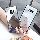 رخيصةأون حافظات / جرابات هواتف جالكسي S-غطاء من أجل Samsung Galaxy S9 / S9 Plus / S8 Plus مرآة / نحيف جداً / نموذج غطاء خلفي لون سادة TPU