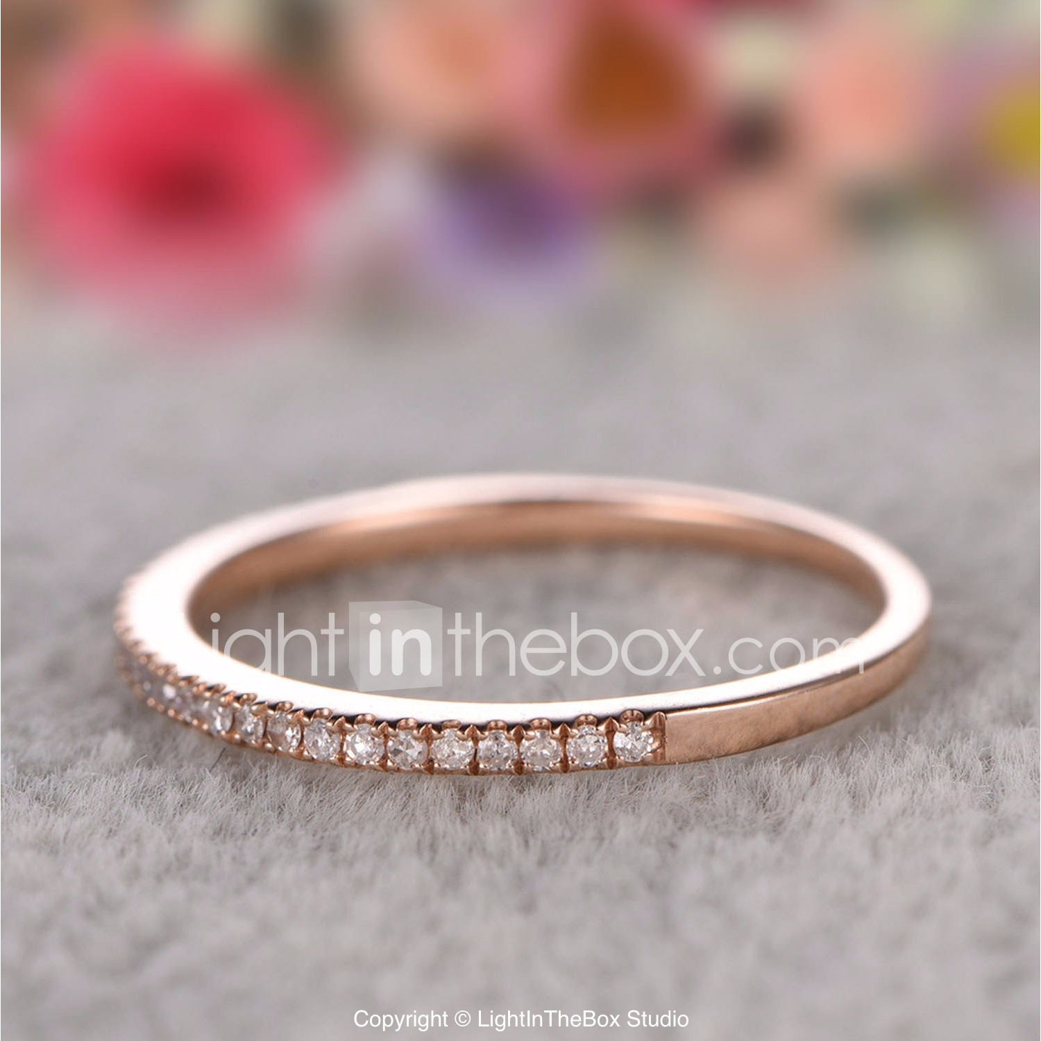635a8f61ce Couple's Cubic Zirconia Classic Stylish Couple Rings Copper Rhinestone  Creative Ladies Stylish Simple Classic Ring Jewelry Gold / Silver / Rose  Gold For ...