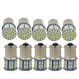 billiga -10pcs 1156 Bilar Glödlampor 3 W SMD 3014 600 lm 50 LED Blinkers / Bromsljus / Återvändande (backup) lampor Till Universell Alla år