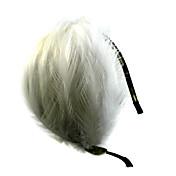 Mujer Niña de flor Pluma Aleación Celada-Boda Ocasión especial Casual Al Aire Libre Bandas de cabeza