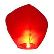 kongming stearinlys drevet flying himmel lykt (assortert farge)