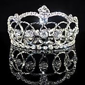 diamantes de imitación de aleación hermosa boda nupcial tiara / diadema