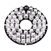Infrarød lampe 48-LED Illuminator Board Plate for 3.6mm Lens Security Camera til Sikkerhet Systemer 6*6*1.5cm 0.015kg