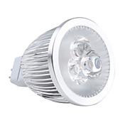 GU5.3(MR16) Focos LED MR16 3 LED de Alta Potencia 450 lm Blanco Cálido 3000K K AC 12 V