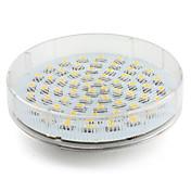4W 300-350lm GX53 Focos LED 60 Cuentas LED SMD 3528 Blanco Cálido 220-240V