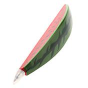 sandía imán con forma de bolígrafo (rojo)