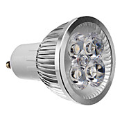 4W 3000 lm GU10 LED-spotpærer 4 leds Høyeffekts-LED Dekorativ Varm hvit AC 85-265V