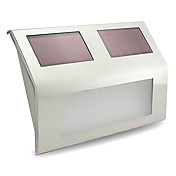 1pc Luz de pared Iluminación de jardín Cuentas LED LED de Alta Potencia Recargable Decorativa Blanco Fresco