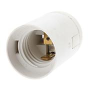 E27베이스 전구 소켓 램프 홀더 (화이트)