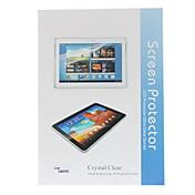 3-IN-1 Crystal Clear Protector de pantalla con el paño de limpieza para Samsung Galaxy Note N8000 10.1