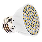 3500 lm E26/E27 Focos LED MR16 60 leds SMD 3528 Blanco Cálido AC 110-130V AC 220-240V