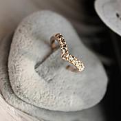 Mujer Anillos Lujo Amor Cristal Diamante Sintético Legierung Corazón Joyas Aniversario Regalo Diario Enamorado