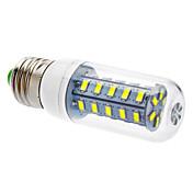 450-490 lm LED-kornpærer T 36 leds SMD 5730 Kjølig hvit AC 110-130V AC 220-240V