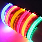 Cuello Luces LED Ajustable/Retractable Un Color Nailon
