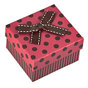 Cajas de Joyería Papel Rojo