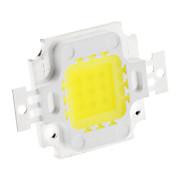 Diy 10 w 700-800lm 300ma 6000-6500k módulo integrado de luz blanca fresca (32-35v)