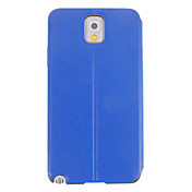 Skylight Design Smooth Leather PU duro volver Pouches cubierta protectora para Samsung Galaxy Nota 3 N9000
