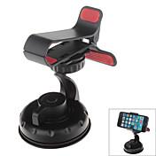 Soporte universal del coche de la rotación de 360 grados para los gps / teléfono móvil - iphone negro 8 7 galaxia s8 s7 de Samsung