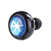 En el oido Sin Cable Auriculares Electroestático El plastico Pro Audio Auricular Mini / Con Micrófono Auriculares
