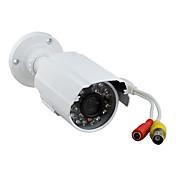 yanse 700tvl 1/4 cmos irskåret (dag og natt bytte) cctv utendørs vanntett infrarød kamera