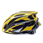 MOON 여성용 남성용 자전거 헬멧 25 통풍구 싸이클링 산악 사이클링 도로 사이클링 사이클링 L : 58-61CM M : 55-58CM PC EPS