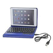 for case cover med stativ med tastatur flip hele kroppen etui solid for ipad