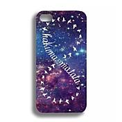 Colorful Nubosidad Caso Elonbo J1C para iPhone 5/5S (multicolor)