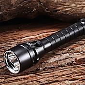 Dykkelamper LED 2100lm 1 lys tilstand Oppladbar / Vanntett Multifunktion