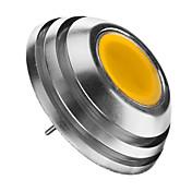 2W 3000 lm G4 LED-globepærer 1pcs leds COB Dekorativ Varm hvit DC 12 V