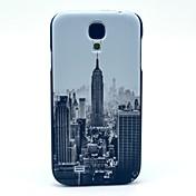Para Funda Samsung Galaxy Diseños Funda Cubierta Trasera Funda Ciudad Policarbonato Samsung S4