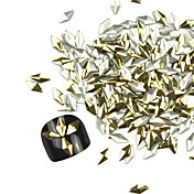 300 pcs Joyería de uñas / Kits de decoración Abstracto / Moda Diario Nail Art Design / Metal
