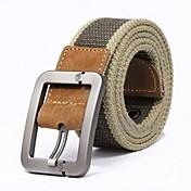 Hombre Cinturón Ancho - Chic de Calle A Rayas