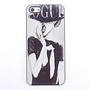 Para Funda iPhone 5 Diseños Funda Cubierta Trasera Funda Chica Sexy Dura Policarbonato iPhone SE/5s/5