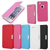 Etui Til iPhone 4/4S Apple Heldekkende etui Hard PU Leather til iPhone 4s/4