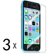 Protector de pantalla Apple para iPhone 6s Plus iPhone 6 Plus iPhone SE/5s 3 piezas Protector de Pantalla Frontal Alta definición (HD)