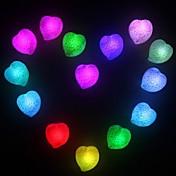 LED Night Light Vanntett Batteri PVC 1 Lampe Batterier Inkludert 6.0*6.5*2.0cm
