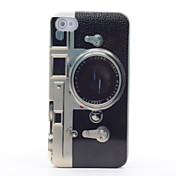 아이폰4와 4S용 레트로 카메라무늬 거울 하드케이스 (멀티색상)
