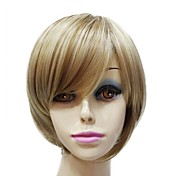 Mujer Pelucas sintéticas Corte Recto Pelucas para Disfraz